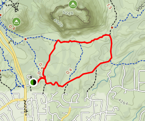 Big Park Loop Map