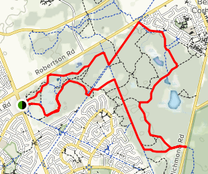 Old Quarry and Stony Swamp Trail Loop Map
