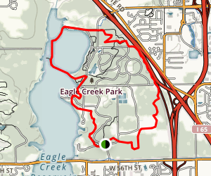 Eagle Creek Color Combo Loop Map