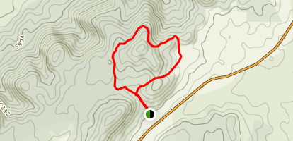 Panorama Loop Trail Map