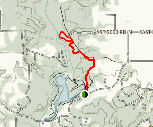 Kickapoo Short Lasso Loop Map