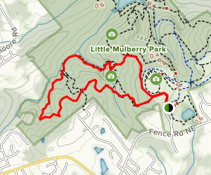 Ravine and West Meadow Loop Map