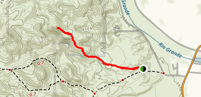 Trackways Trail Map