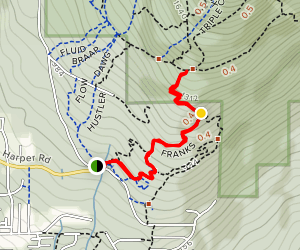 Franks Trail Map