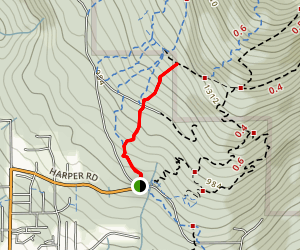 Burke Mountain Dawg and Hustler Map