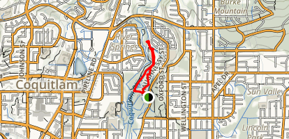 Coquitlam River Walk  Map