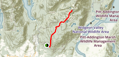 South Slope, Sterling, Burke Ridge, and Widdeon Pass Map