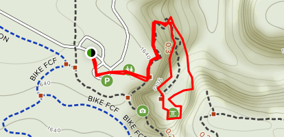 Base of the Falls Map