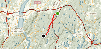 Appalachian Trail: Shenandoah Mountain to Cat Rocks Map