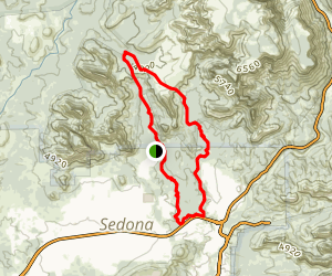 Soldier Pass, Brinsa Mesa, Jordan, Javelina, Crusty, Adobe Jack Loop Map