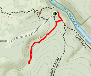 Gorman Springs Trail Map