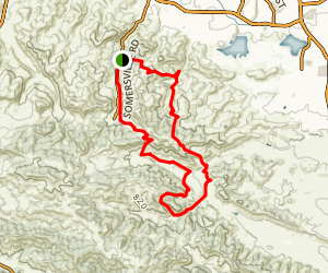 Sydney Flat to Box Canyon Map