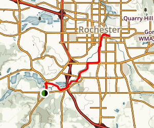 Zumbro River Trail Map
