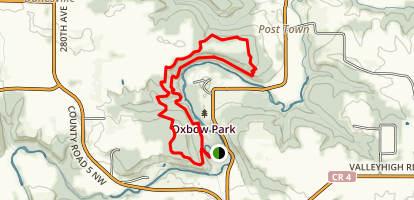 Oxbow Park Loop Trail Map