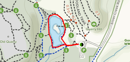 Pond/Prairie Trail Map