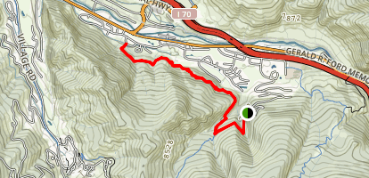 Eagle to Vail Trail Map