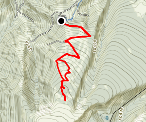 Beaver Creek Bald Map