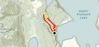 Spence Mountain Loop Map
