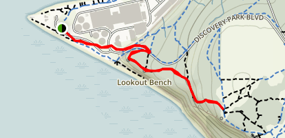 South Beach Trail Map