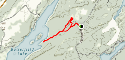 Butterfield and Eagle Marsh Trails Loop Map