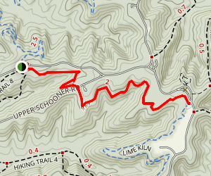 Walnut Trail Map