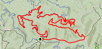 Hesitation, Aynes, Bobcat Loop Map