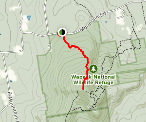 North Pack Monadnock Map