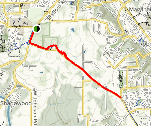 Rosemont Trail Map