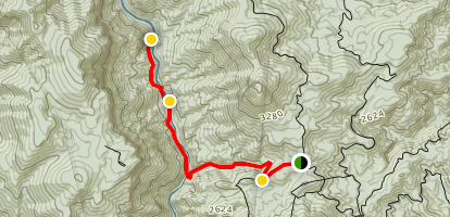 Srence Ridge and Linville River Trail Map