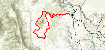 Landslide Trail Loop Map