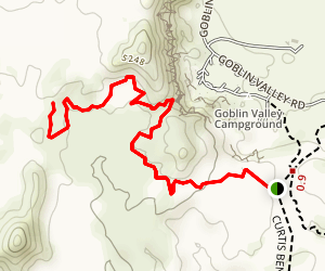 Lizard Foot Trail Map