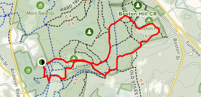 Graham Trail to Vetter Trail Loop Map
