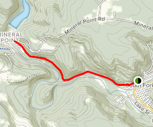 Path of the Flood Trail Map