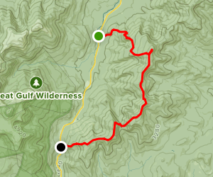 Carter Mountains to Wildcat Mountain Map