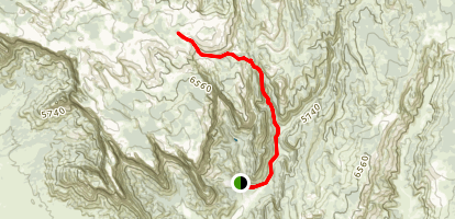 Squirrel Canyon Map
