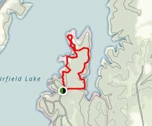Fairfiled State Park North Loop Map