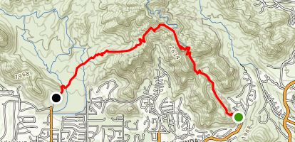 Sunrise Trail Map