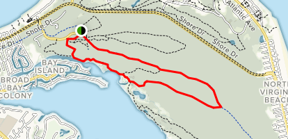 Cape Henry Trail to Long Creek Trail Map
