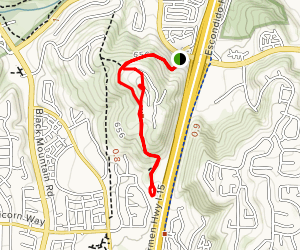 Canyon Hills Open Space Loop Map