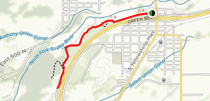 Henrys Fork Greenway (South) Map