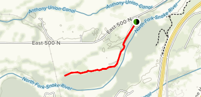 Henrys Fork Greenway (North) Map