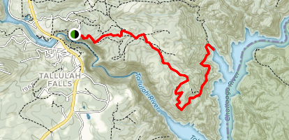 Stoneplace Trail Map