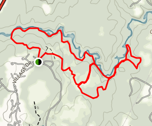 Cathance River Trail Map