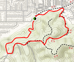 South Hills Wilderness Area Map
