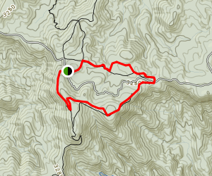 Benton Mckay Springer Mountain Loop Map
