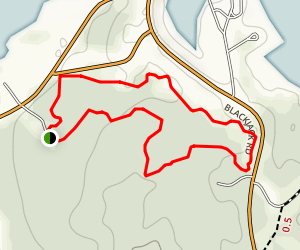 Sandstone Fitness Trail Map