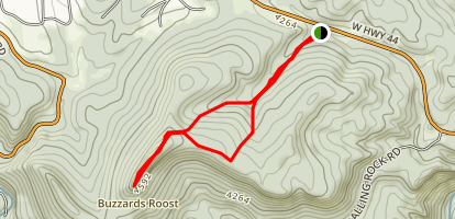 Buzzards Roost Map