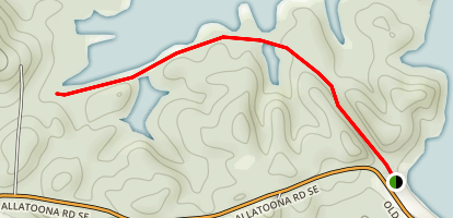 Allatoona Lake Trail Map