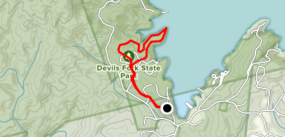 Bear Cove Trail Map