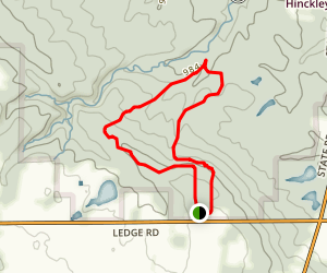 Ledge Lake Loop Trail Map